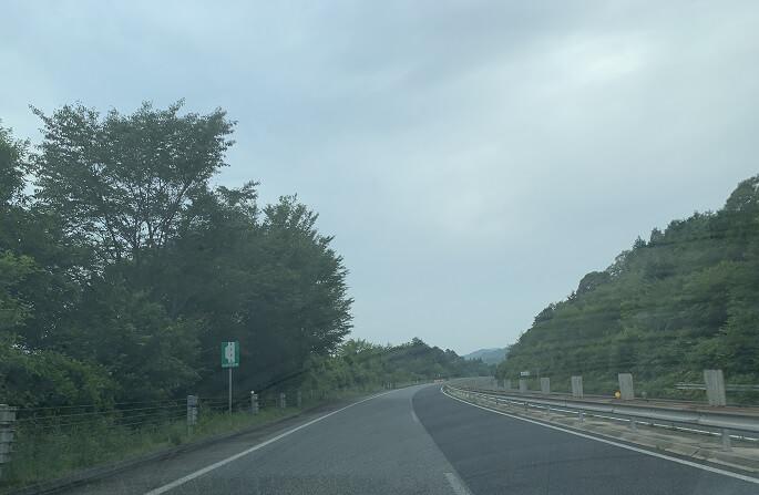 中国道 ガラガラ区間(山口)