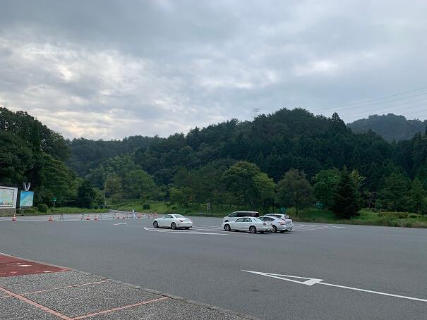 鹿野SA 駐車場