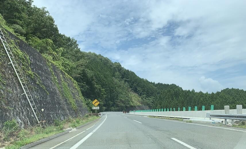 中国自動車道の風景 帝釈峡1
