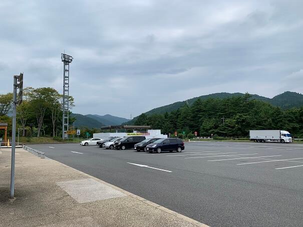 吉和SA 駐車場